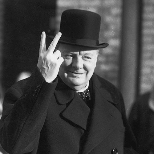 Icons answer: CHURCHILL