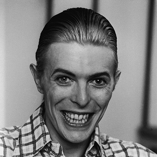Icons answer: DAVID BOWIE