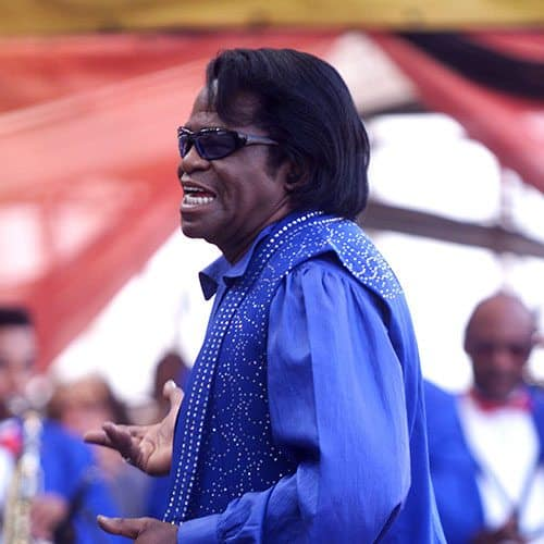 Icons answer: JAMES BROWN