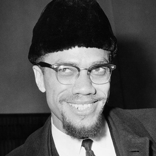 Icons answer: MALCOLM X