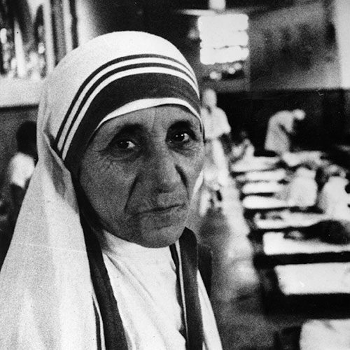 Icons answer: MOTHER TERESA