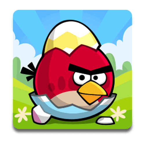 Loghi answer: ANGRY BIRDS