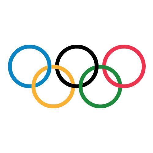 Loghi sportivi answer: OLIMPIADI