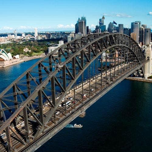 Meraviglie answer: HARBOUR BRIDGE