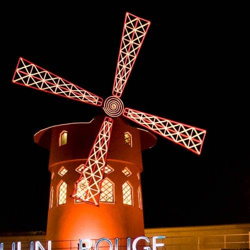 Meraviglie answer: MOULIN ROUGE