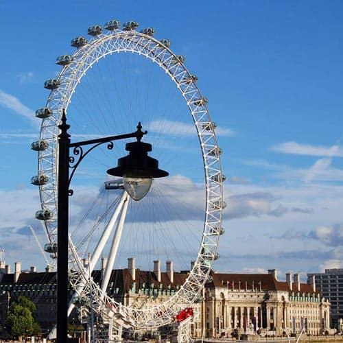 Meraviglie answer: LONDON EYE