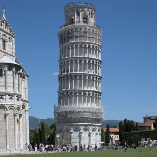 Meraviglie answer: TORRE DI PISA