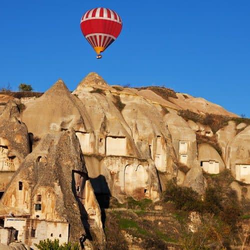 Meraviglie answer: CAPPADOCIA