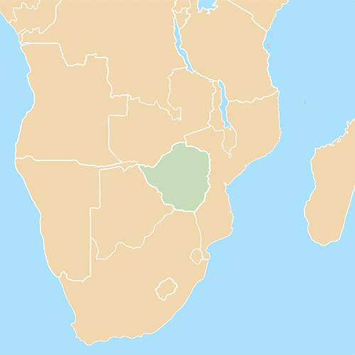 Nazioni answer: ZIMBABWE