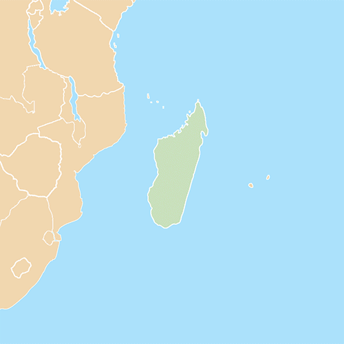 Nazioni answer: MADAGASCAR