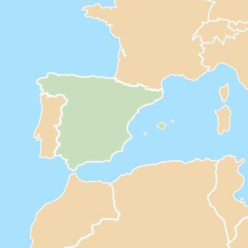Nazioni answer: SPAGNA