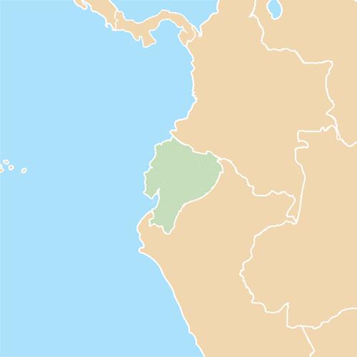 Nazioni answer: ECUADOR