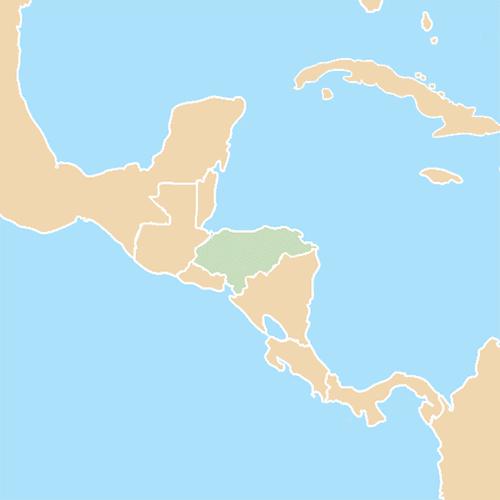 Nazioni answer: HONDURAS
