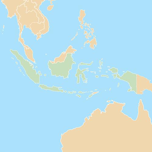 Nazioni answer: INDONESIA