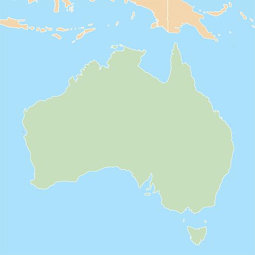 Nazioni answer: AUSTRALIA