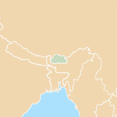 Nazioni answer: BHUTAN