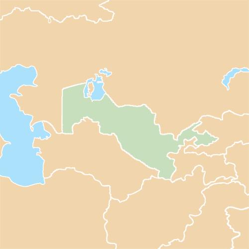 Nazioni answer: UZBEKISTAN