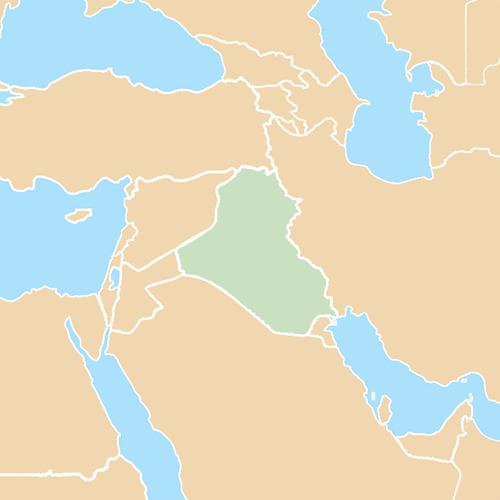Nazioni answer: IRAQ
