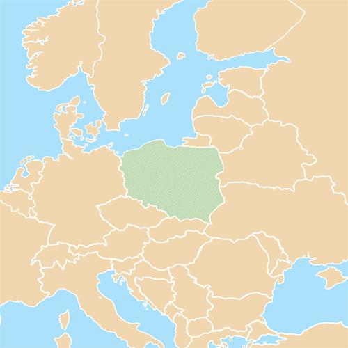 Nazioni answer: POLONIA