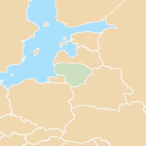 Nazioni answer: LITUANIA