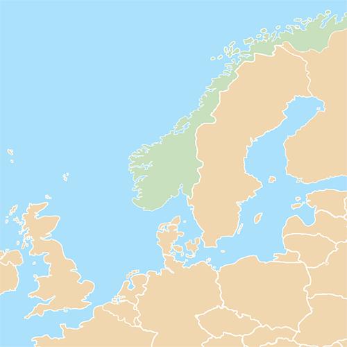 Nazioni answer: NORVEGIA