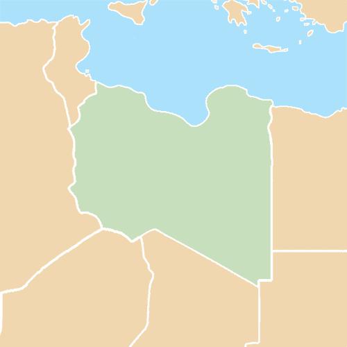 Nazioni answer: LIBIA