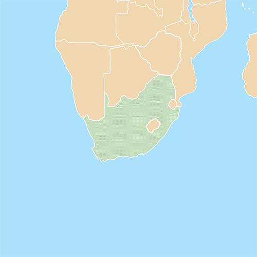 Nazioni answer: SUDAFRICA