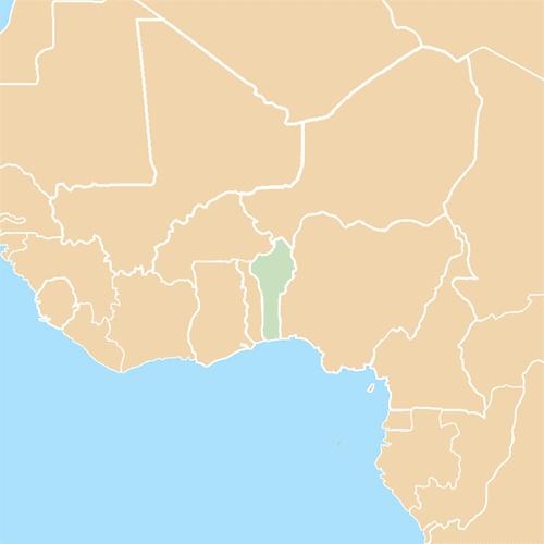 Nazioni answer: BENIN
