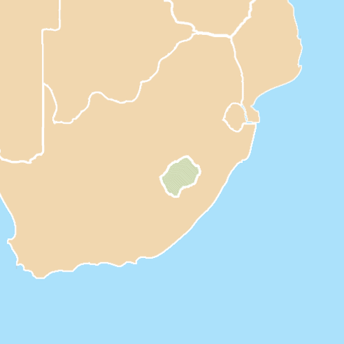 Nazioni answer: LESOTHO