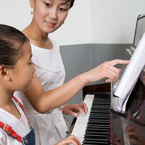 Professioni answer: MAESTRA DI PIANO