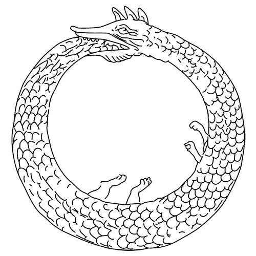 Simboli answer: UROBORO