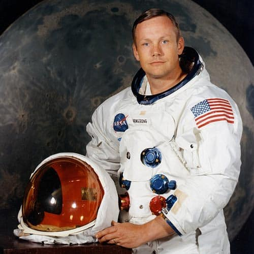 Spazio answer: NEIL ARMSTRONG