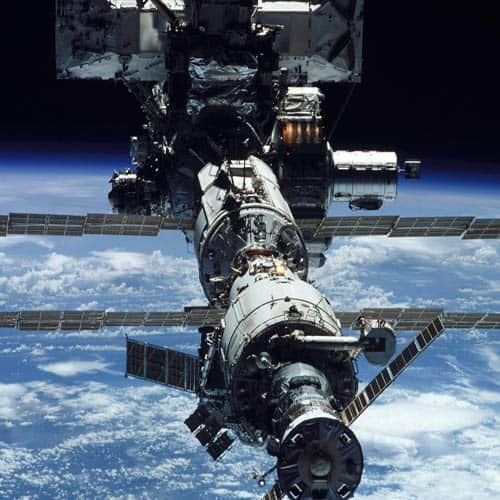 Spazio answer: SPACE STATION
