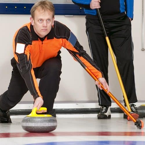 Sport answer: CURLING