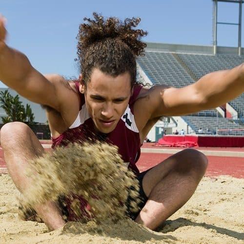 Sport answer: SALTO IN LUNGO
