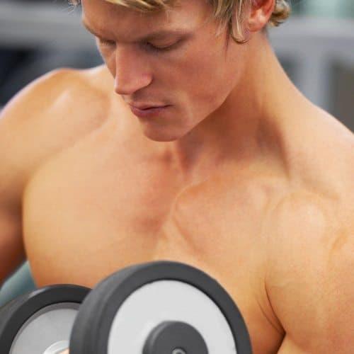 Sport answer: BODYBUILDING