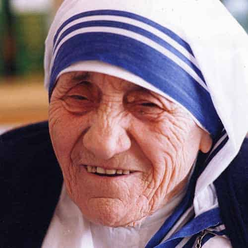 Storia answer: MADRE TERESA