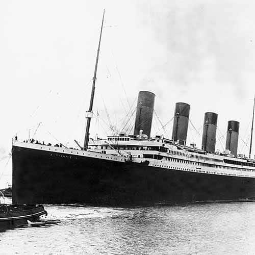 Storia answer: TITANIC