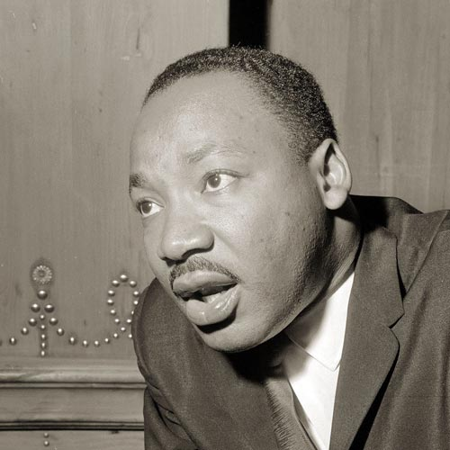 Storia answer: LUTHER KING