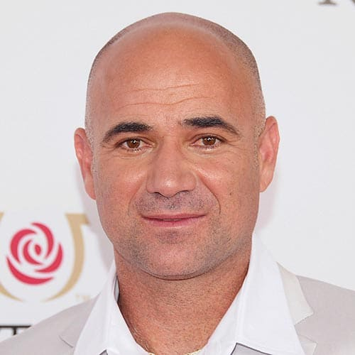 Tennis answer: ANDRE AGASSI