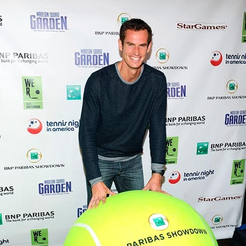 Tennis answer: ANDY MURRAY