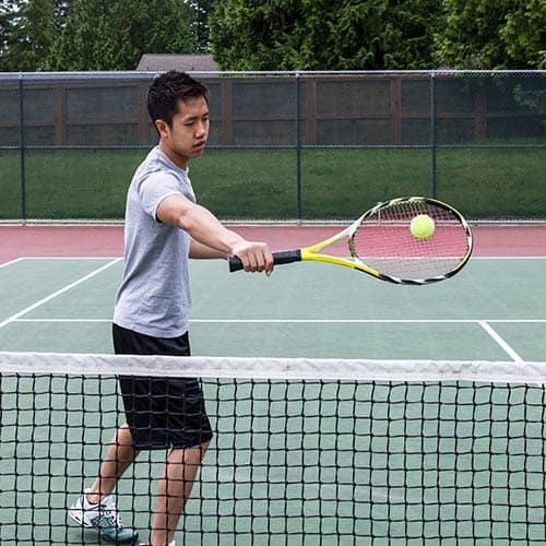 Tennis answer: VOLO DI ROVESCIO