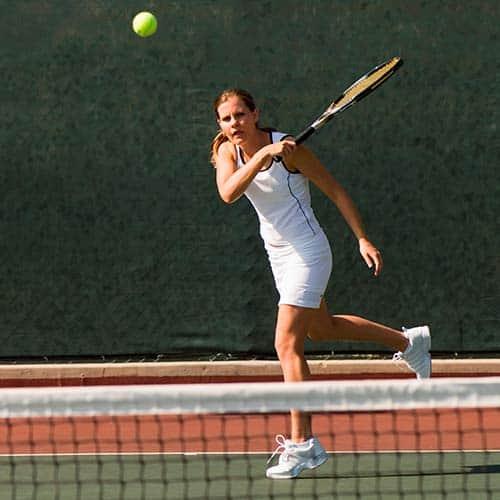 Tennis answer: DIRITTO