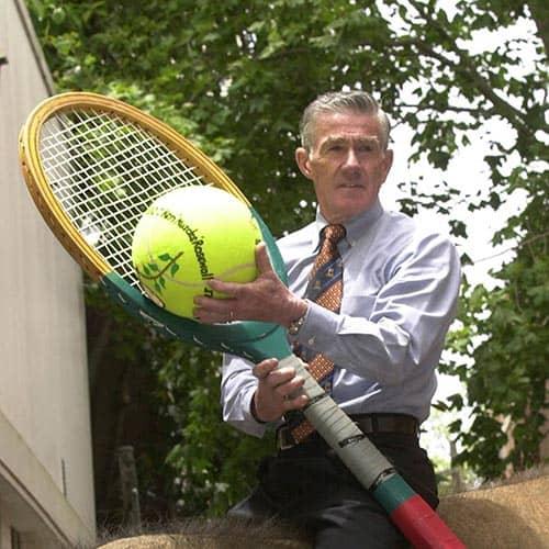 Tennis answer: KEN ROSEWALL