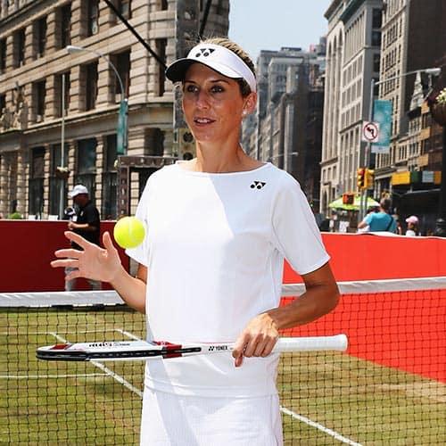 Tennis answer: MONICA SELES