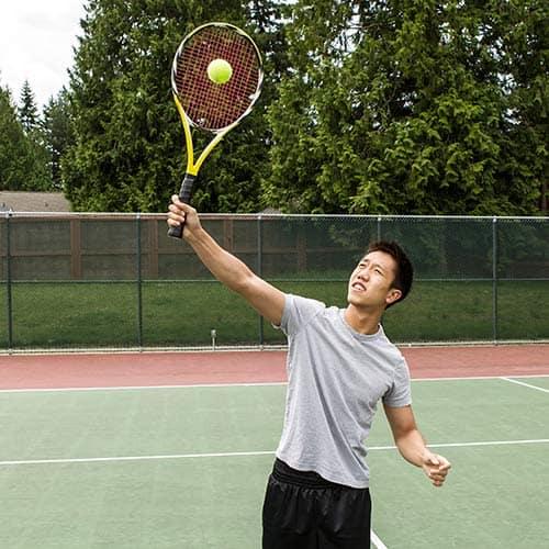 Tennis answer: SMASH