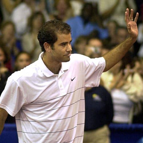 Tennis answer: PETE SAMPRAS