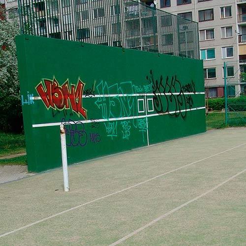 Tennis answer: MURO DA PRATICA