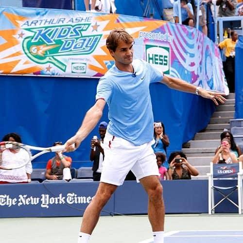 Tennis answer: FEDERER