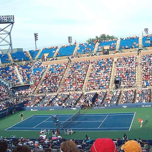 Tennis answer: US OPEN